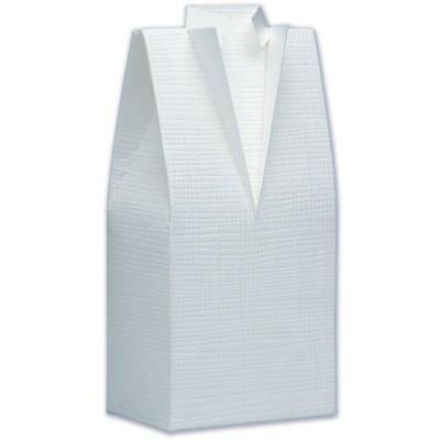 blister de 10 boites drag es mariage costume blanc cass achat vente bo te drag es. Black Bedroom Furniture Sets. Home Design Ideas