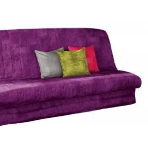 Housse de clic clac opak 2 couleur violet achat vente housse de canap - Housse de clic clac violet ...