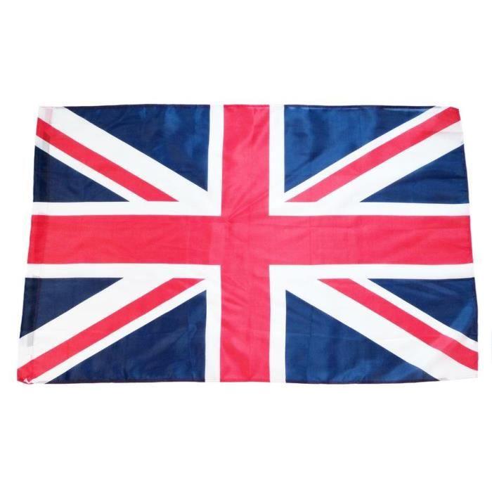 drapeau etendart 150x90cm royaume uni uk anglais prix pas cher cdiscount. Black Bedroom Furniture Sets. Home Design Ideas