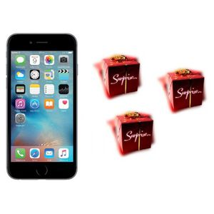 SMARTPHONE IPHONE 6 16GO GRIS SIDERAL RECONDITIONNE + 3  CADE