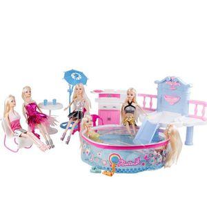 DÉGUISEMENT - PANOPLIE  Batinna 66473 Barbie Piscine Un costume