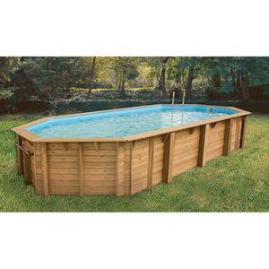 piscine bois octogonale achat vente piscine bois. Black Bedroom Furniture Sets. Home Design Ideas