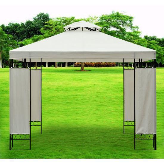 b che de toit toiture rechange pour pavillon to achat vente tonnelle barnum b che de toit. Black Bedroom Furniture Sets. Home Design Ideas