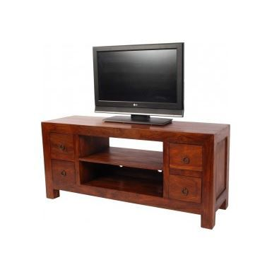 meuble tv hi fi 4 tiroirs zen achat vente meuble tv. Black Bedroom Furniture Sets. Home Design Ideas