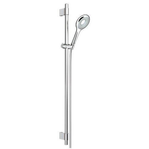 grohe 27379000 ensemble de douche rainshower icon 100 avec barre de douche achat vente. Black Bedroom Furniture Sets. Home Design Ideas