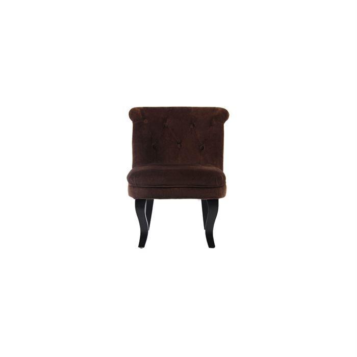 Fauteuil crapaud marron lot de 2 achat vente fauteuil cdiscount - Fauteuil crapaud marron ...