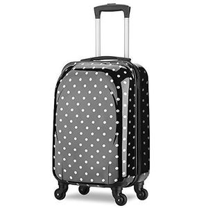 VALISE - BAGAGE Valise cabine ABS + PC rigide ultra léger - 4 roue
