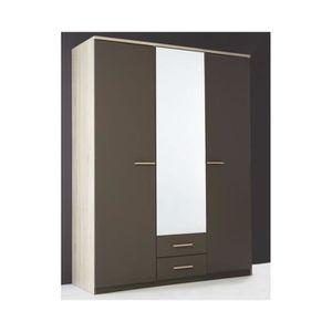 armoire lingere 1 porte achat vente armoire lingere 1 porte pas cher cdiscount. Black Bedroom Furniture Sets. Home Design Ideas