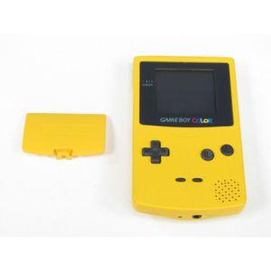 CONSOLE RÉTRO Console Nintendo Gameboy Color Jaune Soleil