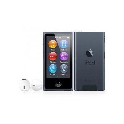 apple ipod nano 16 go graphite 7 me g n ration lecteur. Black Bedroom Furniture Sets. Home Design Ideas