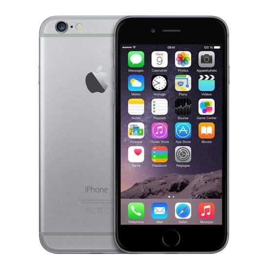 apple iphone 6 16 go gris sfr achat smartphone pas cher avis et meilleur prix cdiscount. Black Bedroom Furniture Sets. Home Design Ideas