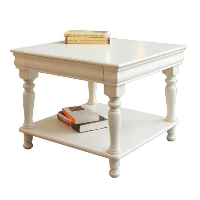 Table basse louis philippe laqu e achat vente table - Table basse cdiscount ...