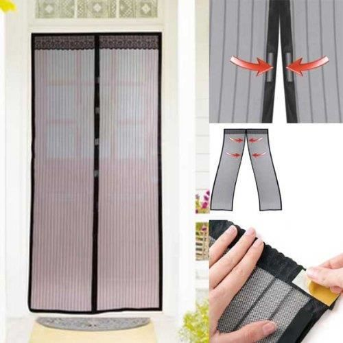 secretdressing rideau moustiquaire fermeture aimantee 205 cm 2 x 50 cm anti moustique achat. Black Bedroom Furniture Sets. Home Design Ideas