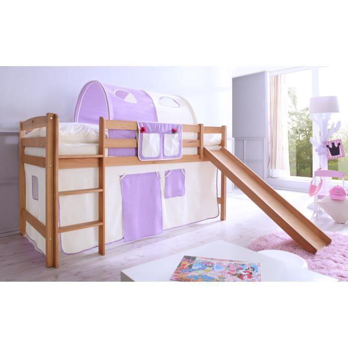 lit mezzanine avec toboggan timmy h tre huil bio le lit timmy saura g ter les plus xigeants. Black Bedroom Furniture Sets. Home Design Ideas