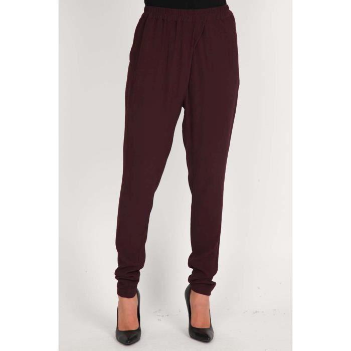 pantalon diro pieces bordeaux bordeaux achat vente pantalon pantalon diro pieces bordea. Black Bedroom Furniture Sets. Home Design Ideas