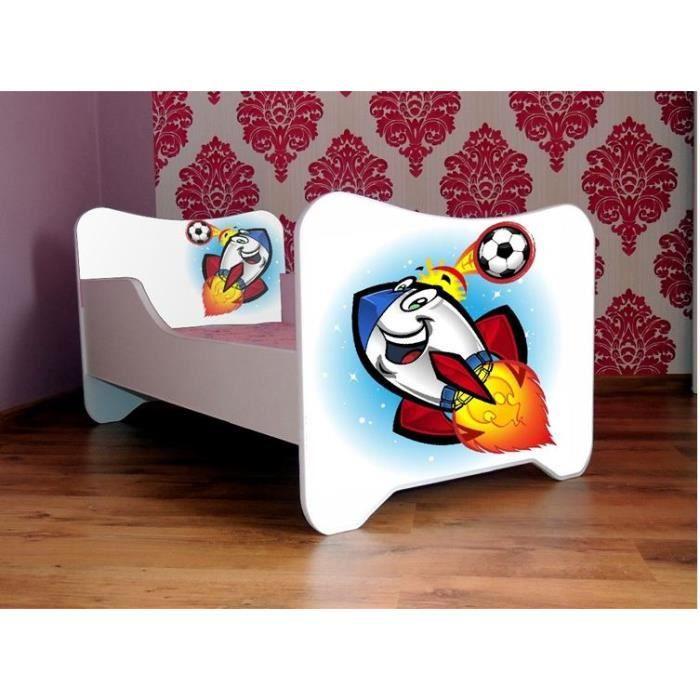 Table rabattable cuisine paris lit 160x200 avec coffre de rangement - Cadre de lit avec rangement 160x200 ...