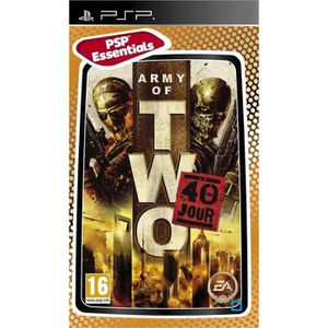 JEU PSP ARMY OF TWO: 40TH DAY ESSENTIALS / Jeu console PSP