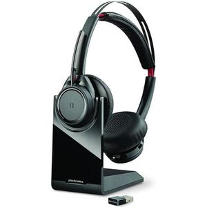 Plantronics Casque Voyager Focus UC B825-M pour Microsoft Lync - Bluetooth - Suppresseur de bruit actif