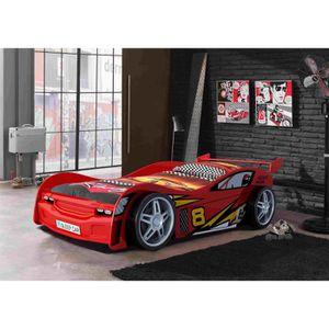 FUN Lit enfant Night Racer rouge