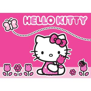 Les Tapi Hello Kitty Achat Vente Les Tapi Hello Kitty Pas Cher Les Soldes Sur Cdiscount