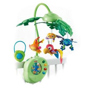 MOBILE FISHER-PRICE Mobile feuilles magiques - K3799