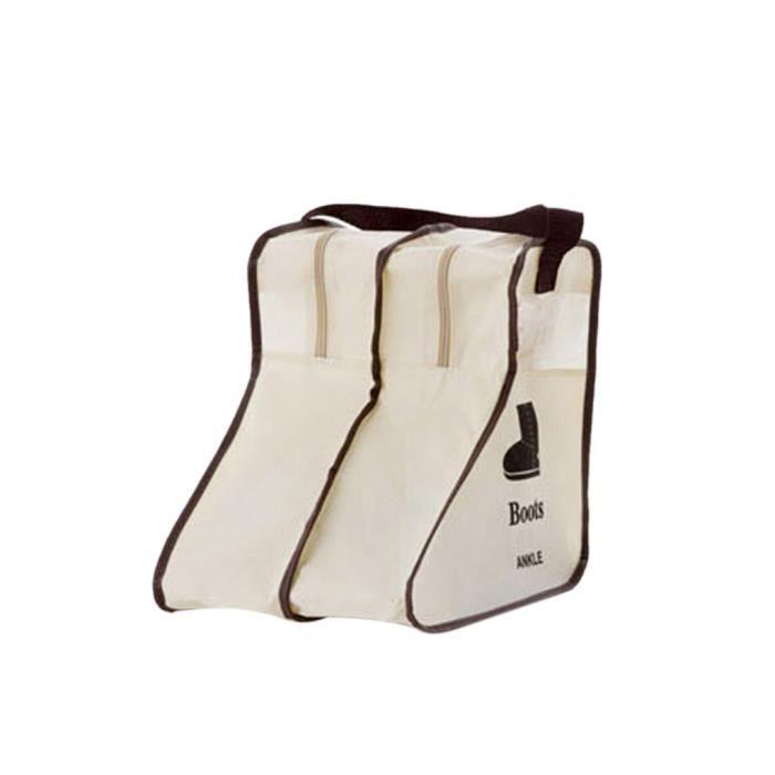 accueil chaussures titulaire longues bottes sac de rangement organisateur porte containers. Black Bedroom Furniture Sets. Home Design Ideas