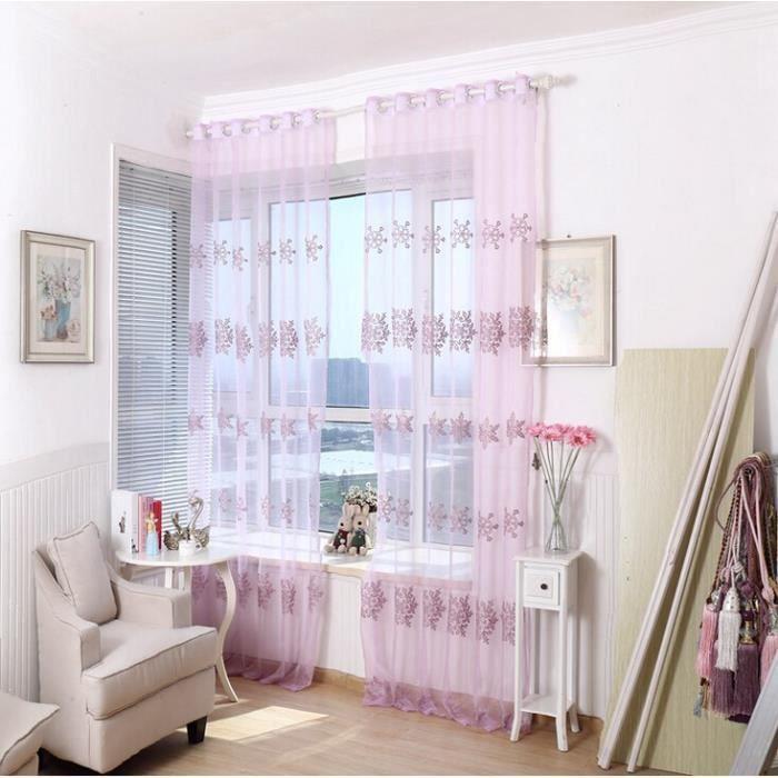 rideaux de tulle rose largeur de 1 5 m par une pi ce hauteur de 2 8 m rideau de la fen tre pour. Black Bedroom Furniture Sets. Home Design Ideas