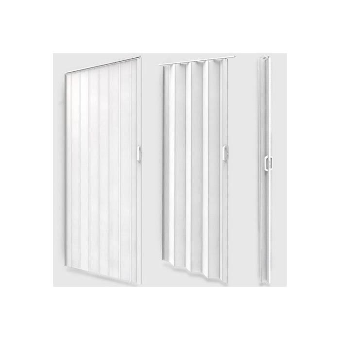 Porte accord on pliante extensible pvc salle de bain for Porte douche accordeon