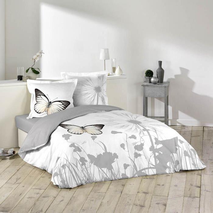 housse de couette 220 x 240 cm taies wish achat. Black Bedroom Furniture Sets. Home Design Ideas