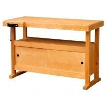 Etabli bois 1 2m a caisson achat vente etabli meuble atelier cdiscount for Moisissure meuble bois