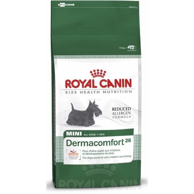 croquettes pour chien royal canin dermaconfort achat vente croquettes croquettes rc. Black Bedroom Furniture Sets. Home Design Ideas