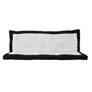 Matelas-futon SONN noir et écru  134x181