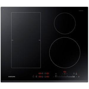 SAMSUNG NZ64K5747BK - Table de cuisson ? induction - 4 zones - 7200W - L60 x P52cm - Rev?tement verre - Noir