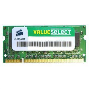 MÉMOIRE RAM Corsair SODIMM 2Go DDR2  667Mhz