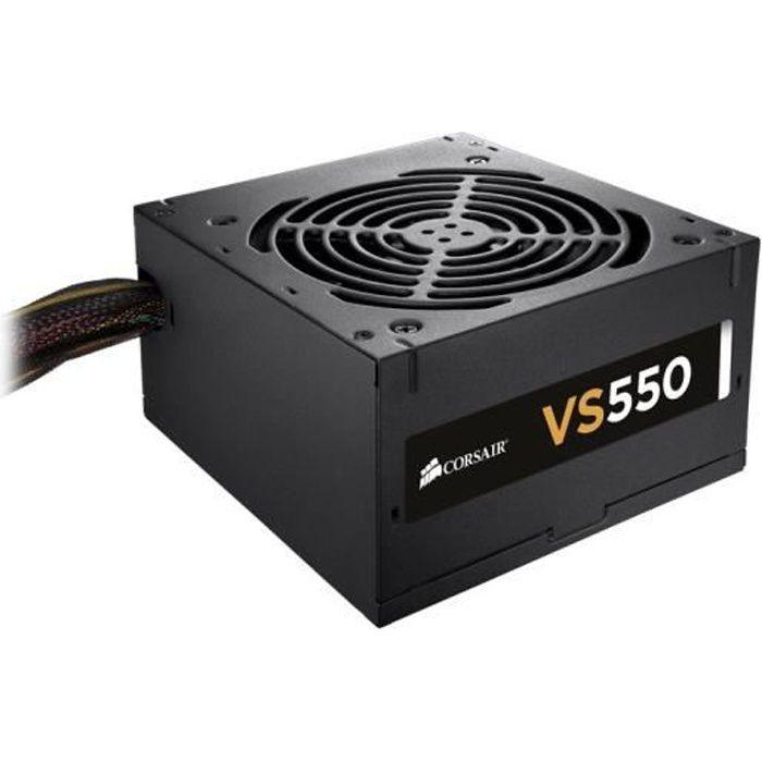 ALIMENTATION INTERNE Corsair alimentation PC VS550