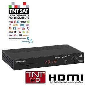 RÉCEPTEUR - DÉCODEUR   SAGEM DS87 HD - Terminal TNT SAT HD