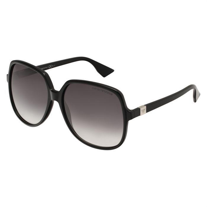 emporio armani lunettes femme noir achat vente lunettes de soleil femme adulte cdiscount. Black Bedroom Furniture Sets. Home Design Ideas