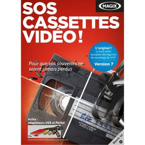 MAGIX SOS Cassettes Video 7-Limited Edition