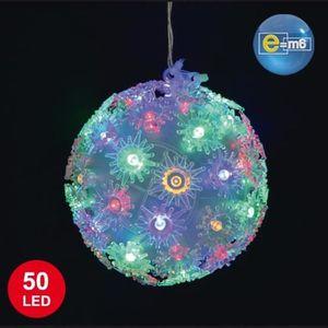 Boule lumineuse 50 cm boule achat vente boule for Boule lumineuse jardin pas cher