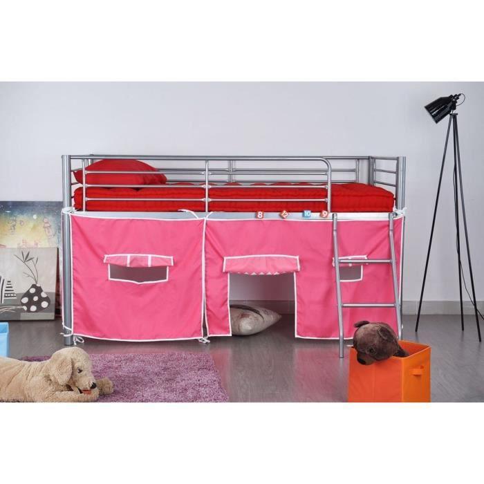 finlandek lit sur lev lintu 190x90 cm tissu maison. Black Bedroom Furniture Sets. Home Design Ideas