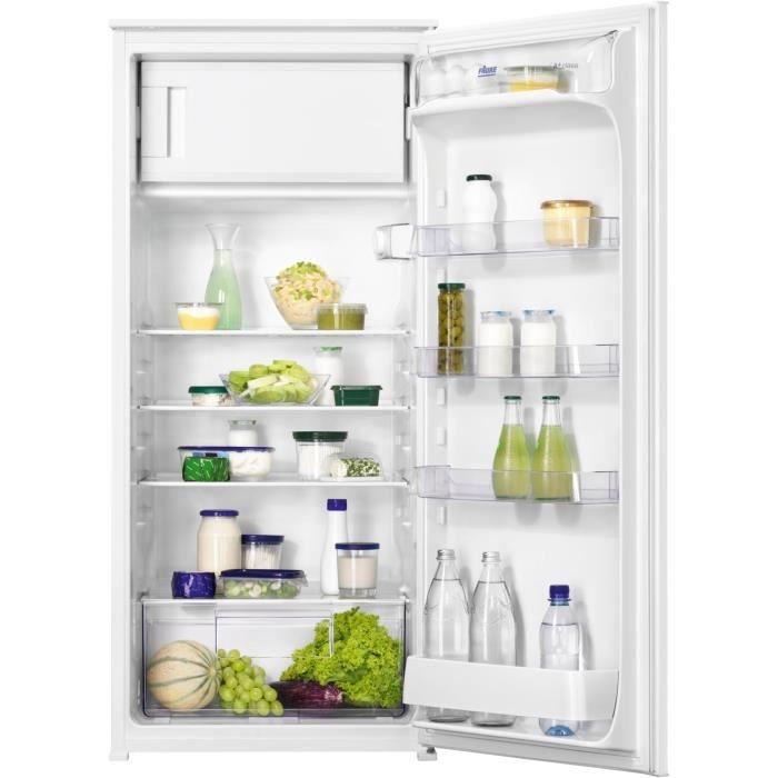 Faure fba22427sv r frig rateur 1 porte encastrable 210l for Refrigerateur encastrable 1 porte