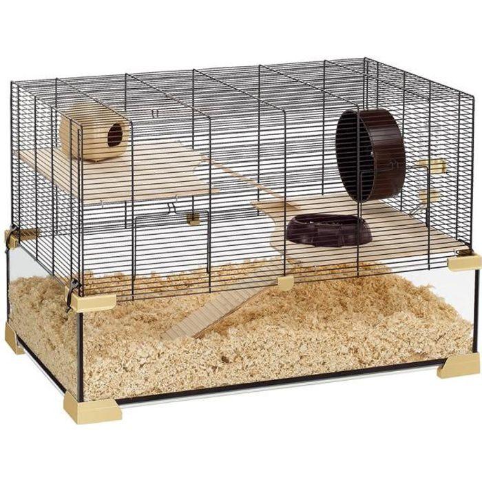 karat 80 cage en verre hamsters et souris achat vente. Black Bedroom Furniture Sets. Home Design Ideas