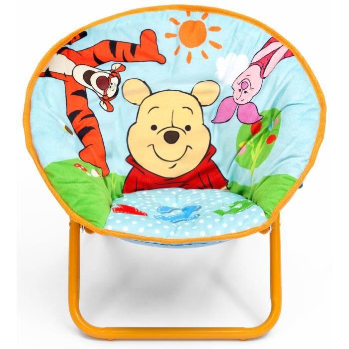 Winnie l 39 ourson chaise lune achat vente fauteuil - Table et chaise winnie l ourson ...