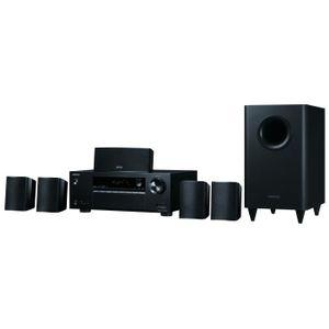 ONKYO HT-S3800 - Syst?me ampli-tuner avec enceintes home cinéma 5.1 canaux - Bluetooth - HDMI - Noir