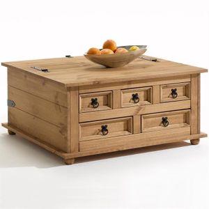 Table basse coffre achat vente table basse coffre pas - Table basse en bois pas cher ...