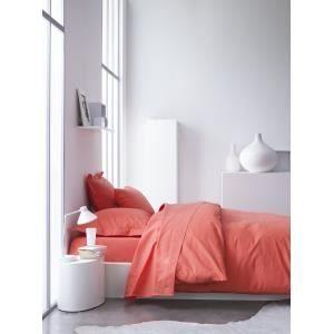 housse de couette couleur orange achat vente housse de couette couleur orange pas cher. Black Bedroom Furniture Sets. Home Design Ideas
