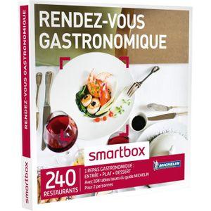 COFFRET GASTROMONIE Coffret Cadeau Rendez-vous gastronomique - 225 res
