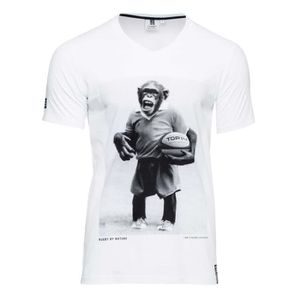 T-SHIRT RUGBY DIVISION T-shirt Chimpansee Homme RGB