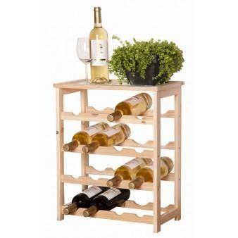 Petit casier bouteilles meuble de salon contemporain for Meuble casier a bouteille