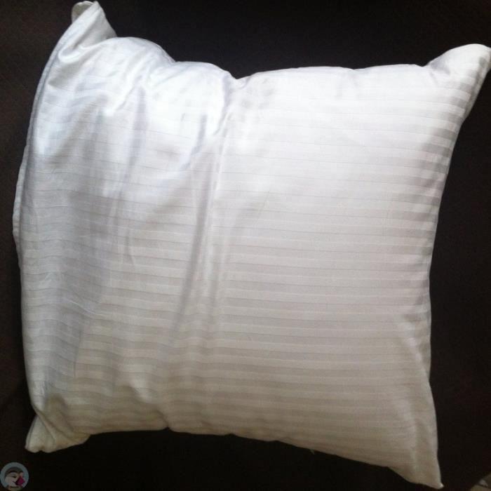 prot ge oreiller pur coton dimension 60x60 cm achat vente protege oreiller cdiscount. Black Bedroom Furniture Sets. Home Design Ideas